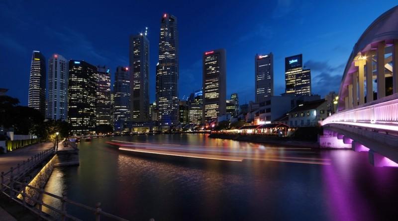 wisata malam di singapura