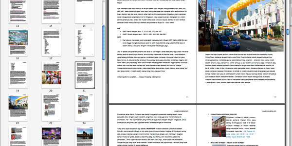 snap shot ebook dalam adobe pdf reader