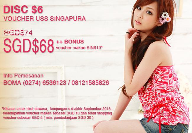 Tiket Universal Studio Singapore Murah