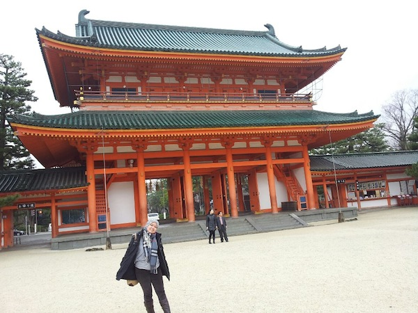Liburan ke Jepang heian shrine
