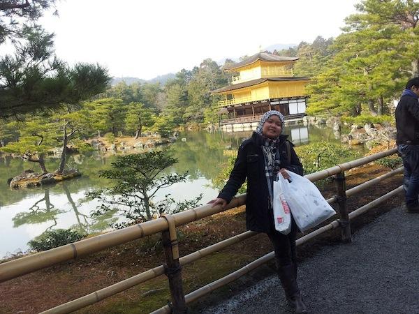 Liburan ke Jepang kinkakuji