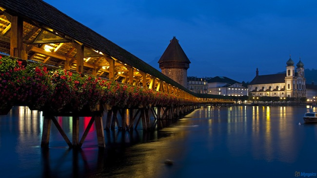 chapel bridge lucern
