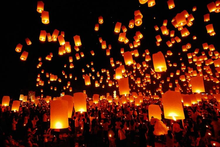 fireworks festival in thailand