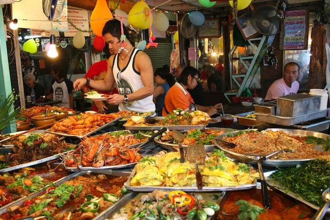 street food di bangkok