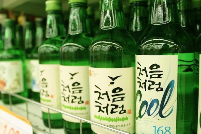 Soju Minuman Korea