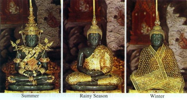 patung buddha zamrud