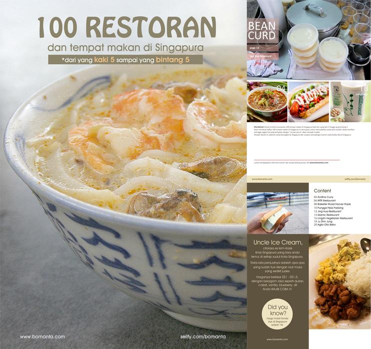100 Restoran di Singapore Cover