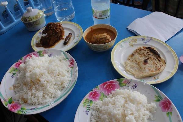 makan di Maldives