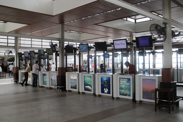 arrival area airport