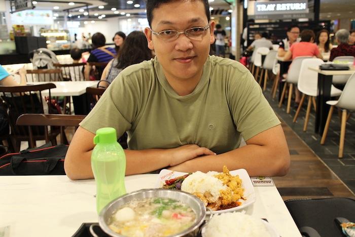kopi tiam food court schangi