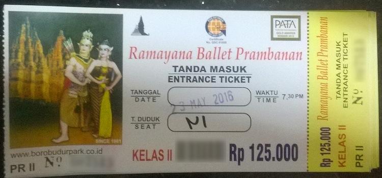 beli tiket ramayana ballet prambanan