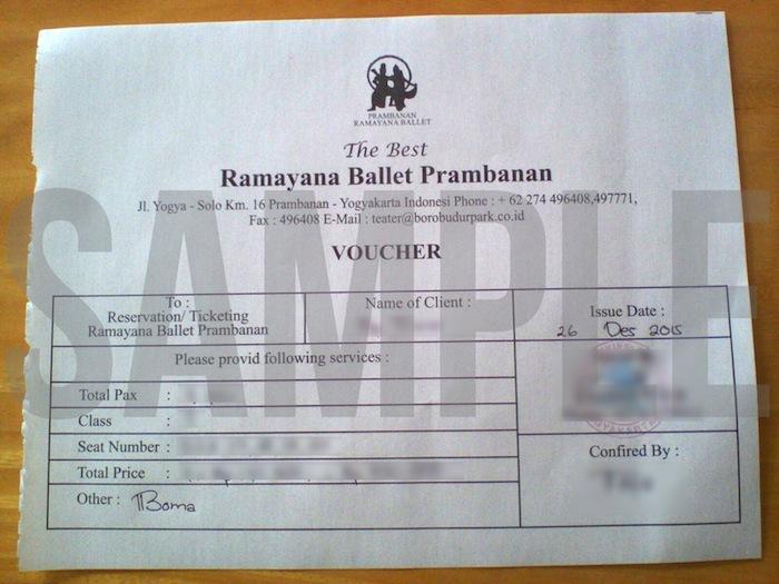 tiket ramayana ballet jogja