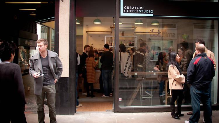 kedai kopi currators coffee studio london