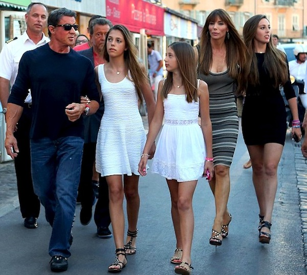 silvester stallone holiday 1