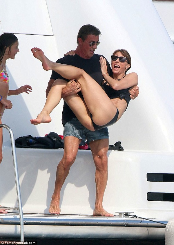 silvester stallone holiday 2