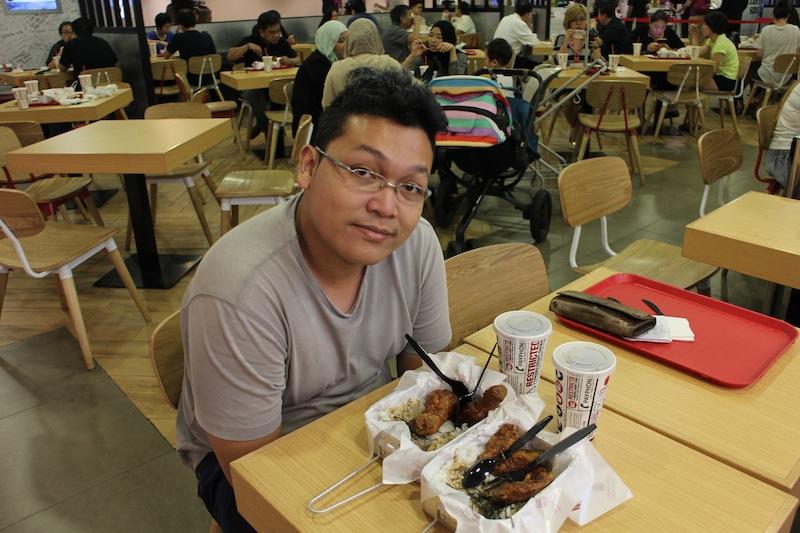 restoran 4 fingers changi singapura