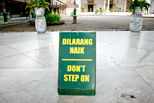sultan palace yogyakarta 1