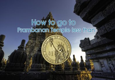 How to Go to Prambanan Temple with Less than USD1