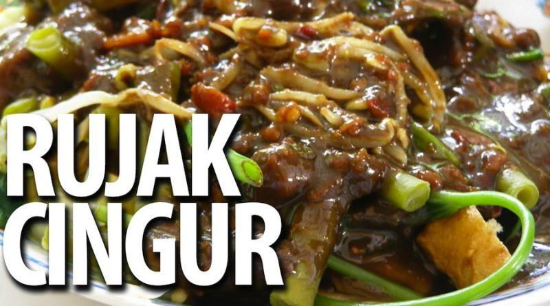 Resep rujak cingur surabaya khas jawa timur