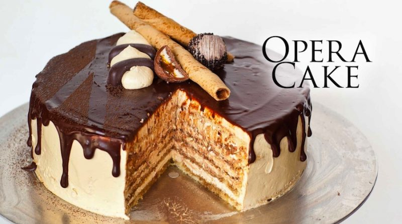 cara bikin opera cake sederhana