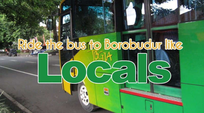 how to go to borobudur with yogyakarta local bus