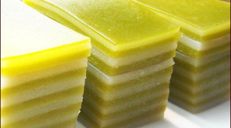resep kue lapis simple