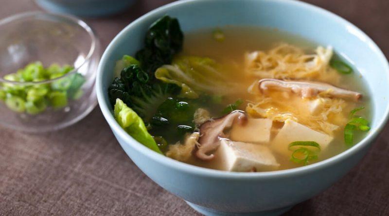 resep sup tahu bening