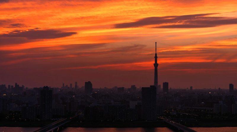 keindahan kota tokyo jepang