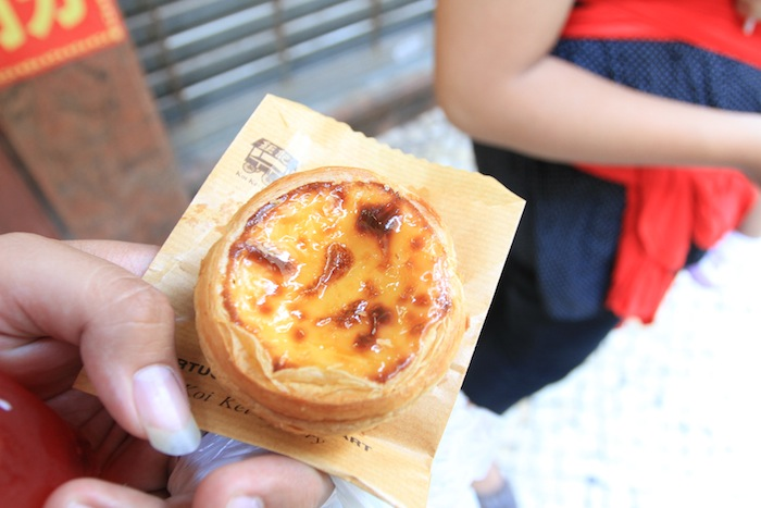 makanan khas hong kong egg tart