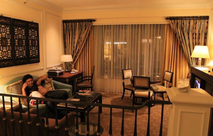 kamar di venetian resort makau