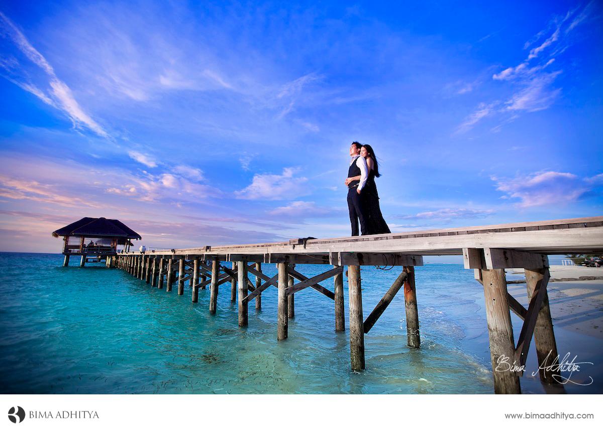 foto pre wed di maldives