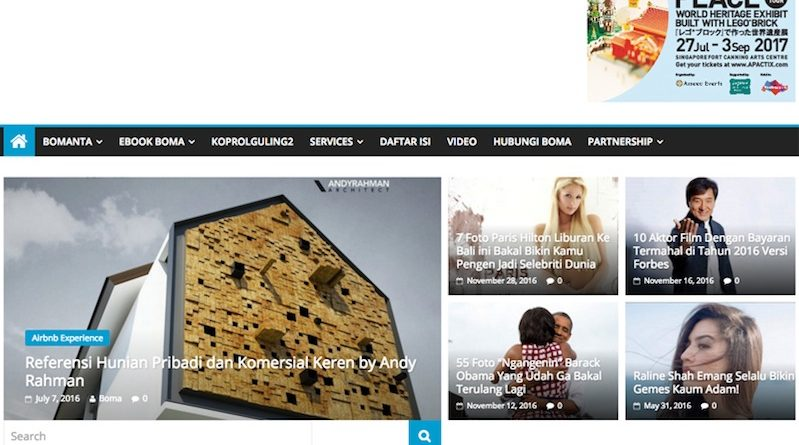 homepage bomanta