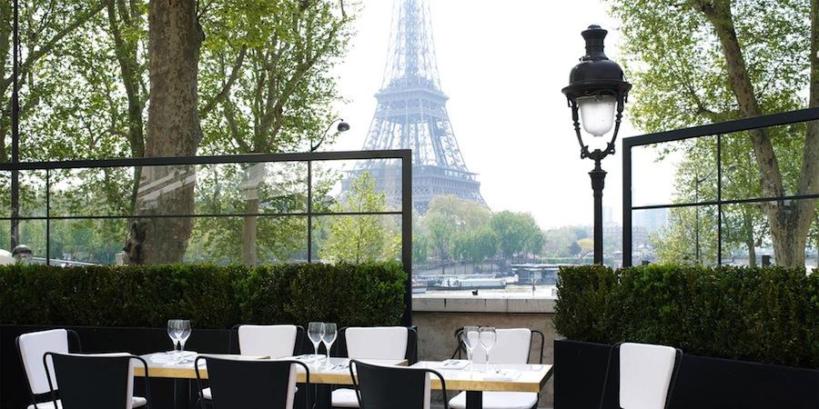 Monsieur Bleu restoran terkenal di paris