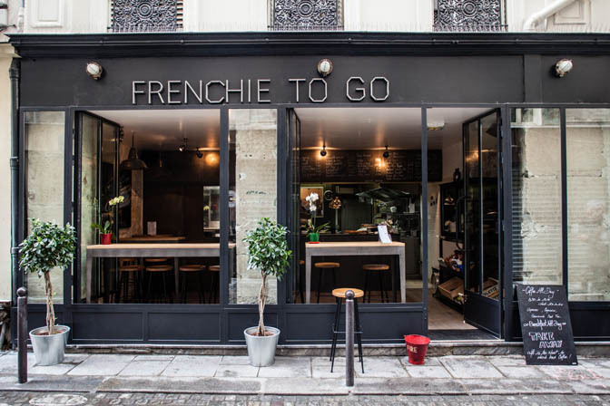 Restoran Frenchie To Go di Paris