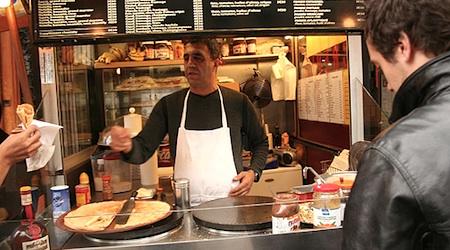 penjual crepe di paris