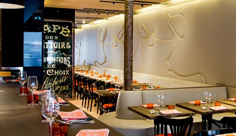 restoran terpercaya di paris Cafe Des Abattoirs