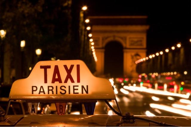 taksi palsu di paris