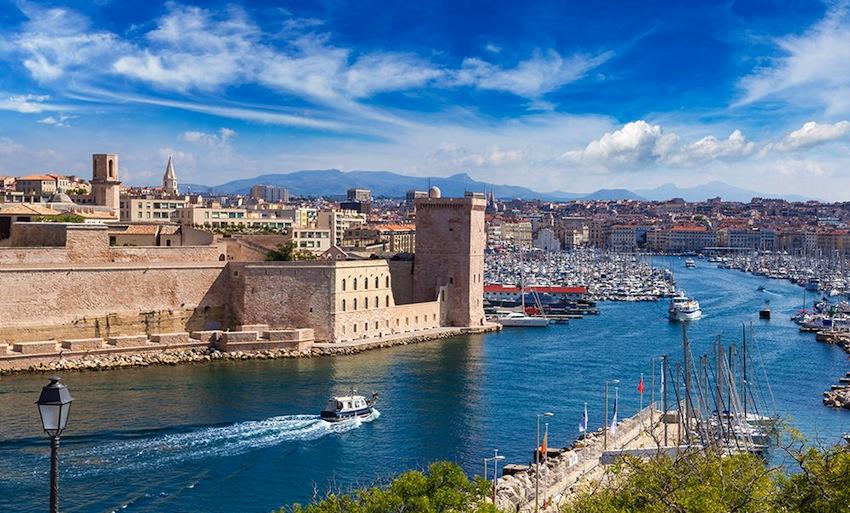 Kota Marseille di Prancis
