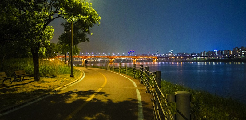 sungai han di seoul