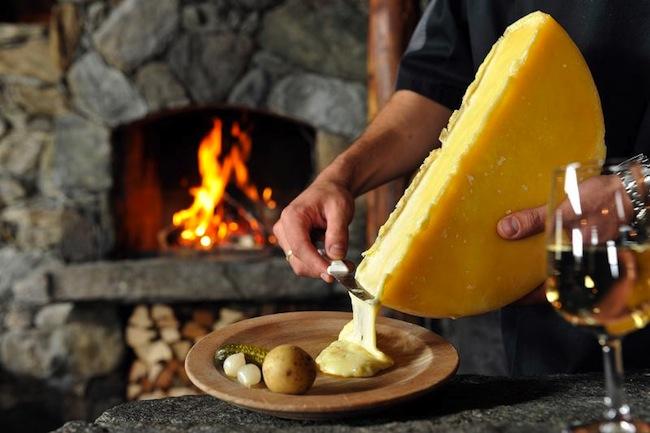 Raclette Keju Leleh Khas Swiss