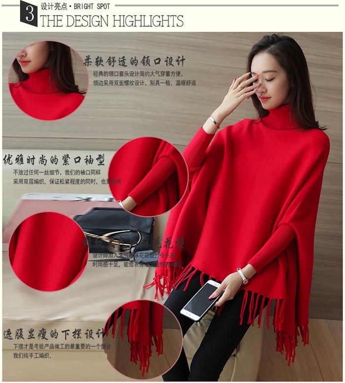 sweater wanita untuk musim dingin