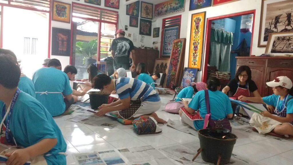 batik course in yogyakarta that use for kids