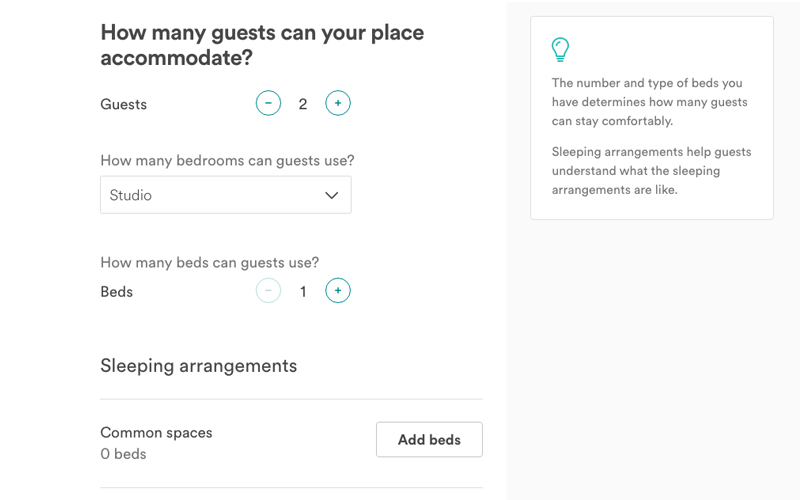 cara mendaftarkan resort di airbnb
