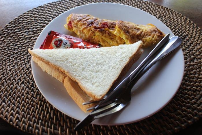 villa mandi breakfast in ubud