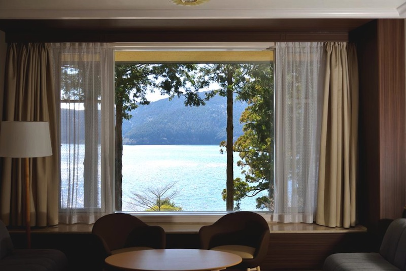 lake ashinoko view