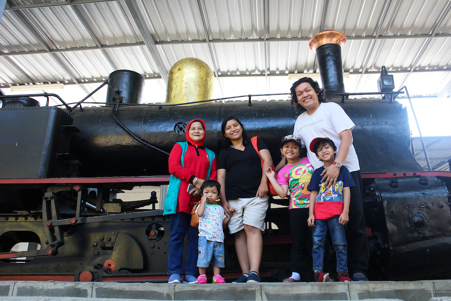 koleksi museum kereta api Ambarawa